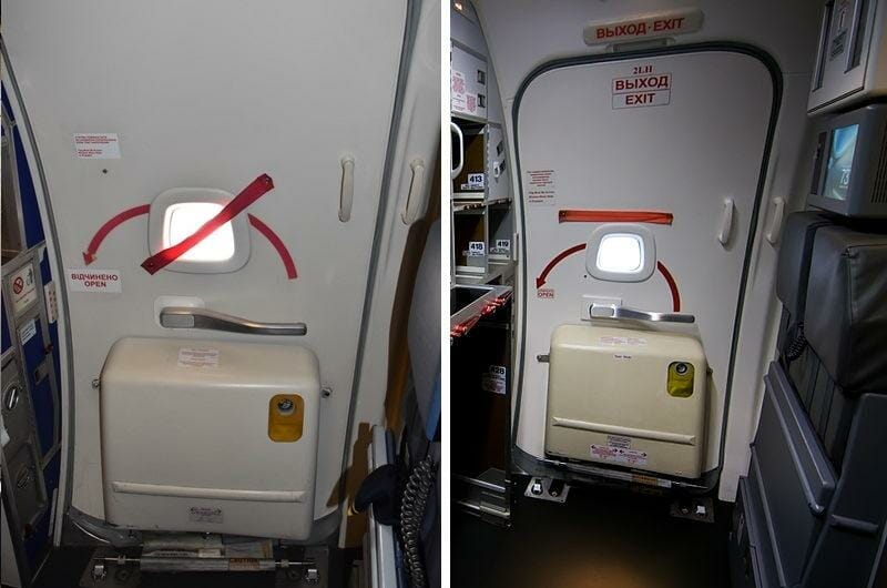 What Is This Strap For On The Doors Of The Plane Video Nodum Org